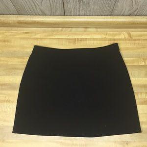 Black Express Miniskirt